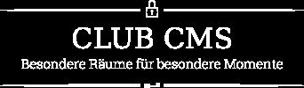 Club-CMS — Besondere Räume für besondere Momente